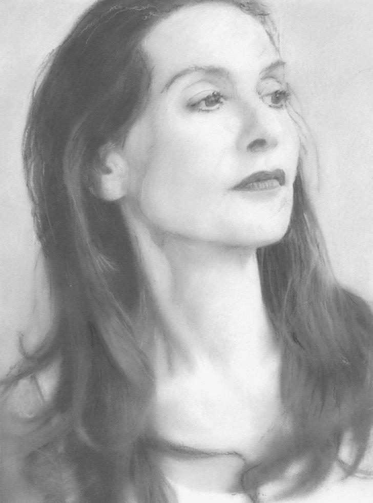 Isabelle Huppert by baudet